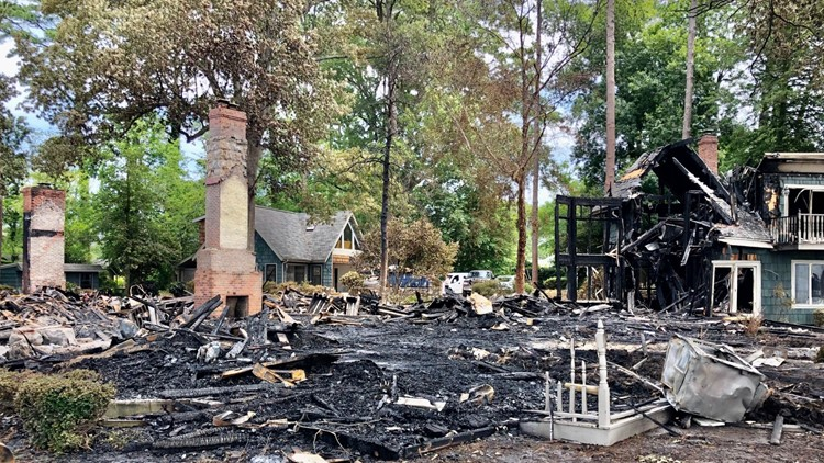 The aftermath of Alanton fire: cause remains under investigation