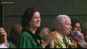 College of William & Mary celebrates Charter Day, inaugurates first female president