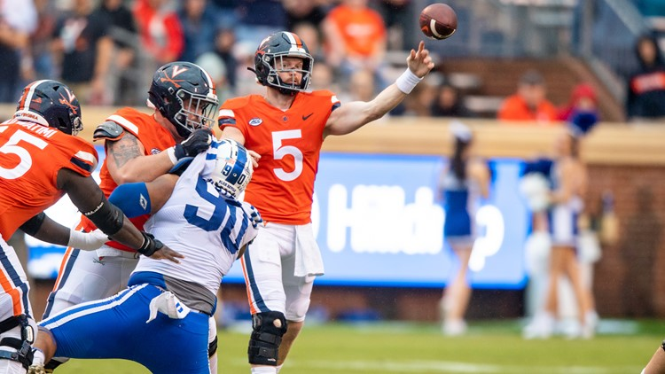 Armstrong, Cavaliers roll over hapless Duke, 48-0