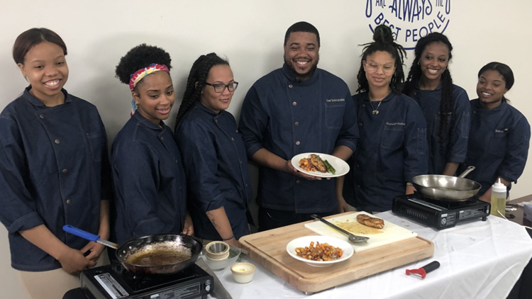 phoebus high culinary nasa dish