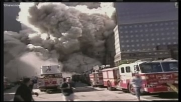 Norfolk woman is still dealing with trauma from 9/11, surviving after she was late to a meeting