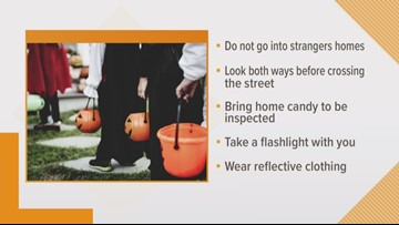 Trick-or-treating safely this Halloween