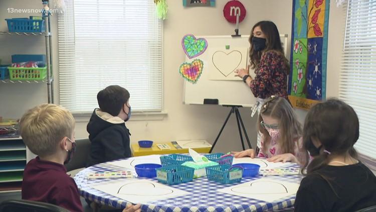 Mrs. Martin's art classes help children