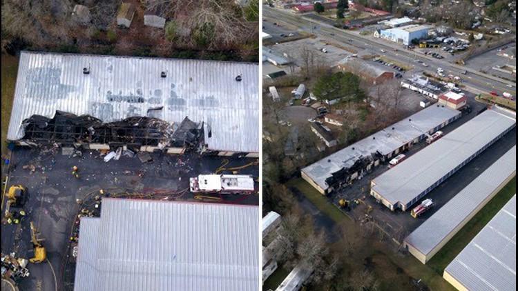 Deep Creek storage unit fire Chesapeake