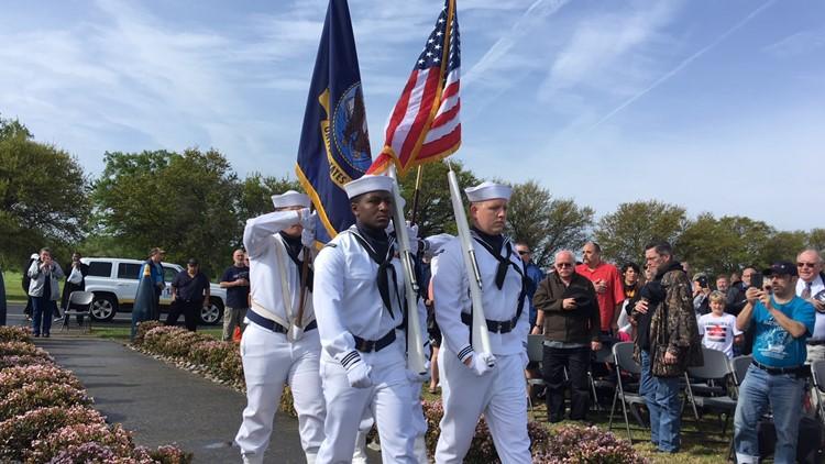 USS Iowa 30th Anniversary Memorial Service held at Naval Station Norfolk