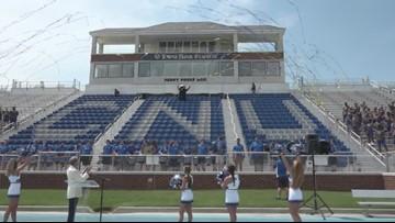 Christopher Newport University renames football stadium