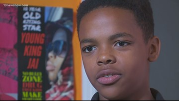 MAKING A MARK: Young rapper against bullying
