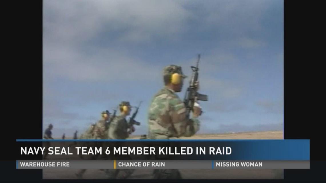 Navy SEAL Team Six member killed in raid