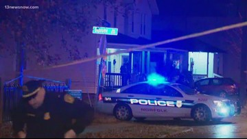 12-year-old boy hospitalized after Norfolk shooting