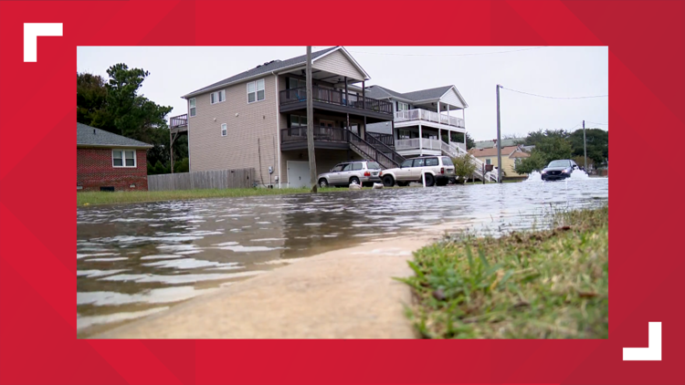 'Too many times to count' | Norfolk residents talk constant coastal flooding due to high tide