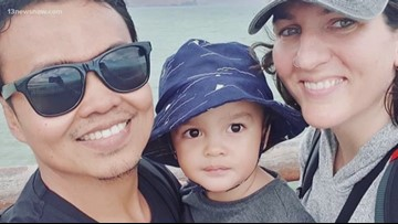 Virginia Beach woman's brother-in-law, two-year-old nephew shot at New Zealand mosque