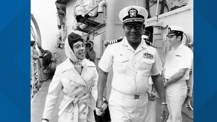 50 years ago, the Navy promoted its first African American flag officer