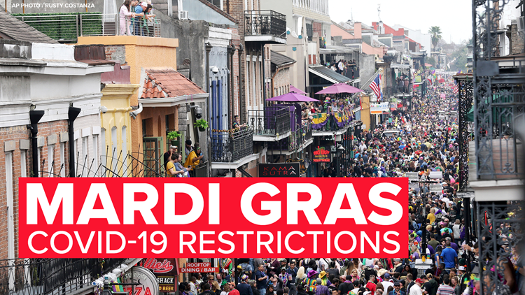 New Orleans to close bars next Friday through Mardi Gras, monitor busy streets