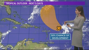 Medium chance for tropical development in the Atlantic