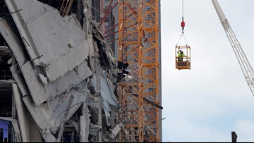 Metal used to hold concrete floors at New Orleans Hard Rock Hotel different from what city approved, records show
