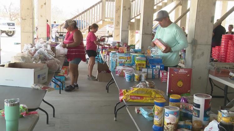 Louisiana church running one-stop drive-thru donation shop for community hit by Ida