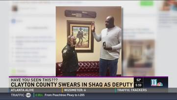 Shaq gets sworn in as Georgia deputy | 13newsnow com