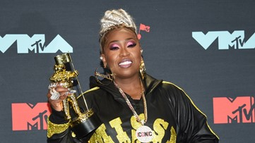 Missy Elliot honored with Video Vanguard Award at MTV VMAs