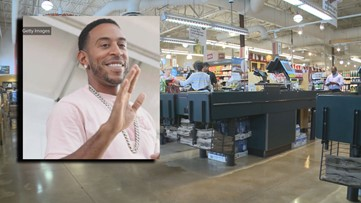 Mystery man who offers to buy struggling woman's groceries turns out to be Ludacris