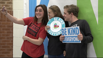 Georgia student with autism starts 'Be Kind to Everyone' campaign with a new twist