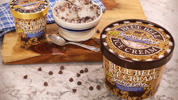 Blue Bell releases 'Cookie Cake Ice Cream' flavor
