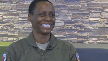 Norfolk native is first African-American female hurricane hunter