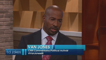 Van Jones Describes His 'White Lash' Comments On CNN